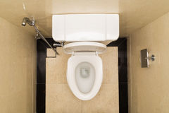 Modern and hygienic toilet bowl with bidet in bathroom Stock Photos
