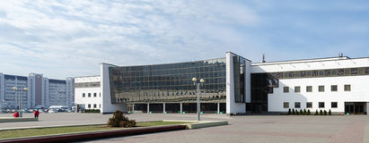 Modern Ice Palace, Gomel, Belarus Stock Photography