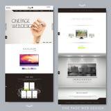 Modern idérik en sidawebsitedesign