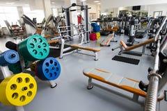 Modern idrottshall Fotografering för Bildbyråer