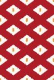 Modern ikat stammen naadloos patroon royalty-vrije illustratie