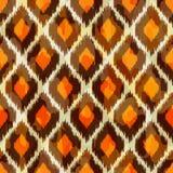 Modern ikat stammen naadloos patroon voor Web of hom