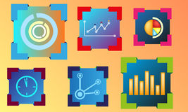 Modern illustration elements Stock Photo