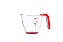 Modern imperial measuring cup isolated on white Stock Image