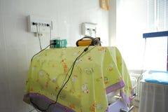 Modern incubator at clinic Stock Photo