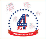 Modern independence day background Stock Photo