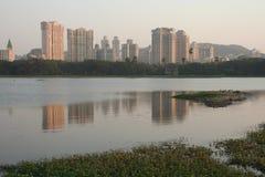 Modern India. New development at Powai, Mumbai Stock Photography
