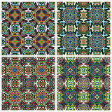 Modern Indian Textil Design Royalty Free Stock Photos