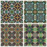 Modern Indian Textil Design Royalty Free Stock Photos