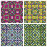Modern Indian Textil Design Royalty Free Stock Photography
