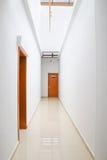 Modern indoor corridor Stock Photo