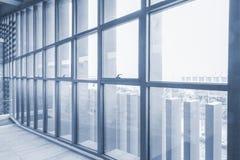 Modern indoor corridor Royalty Free Stock Photography