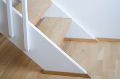 Modern indoor stairs Royalty Free Stock Photos