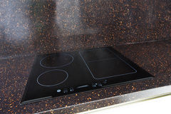 Modern induction electric stove cooker Royalty Free Stock Image