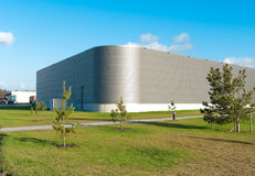 Modern industrial building Royalty Free Stock Photos