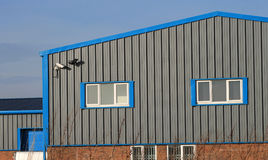 Modern Industrial Building Stock Images