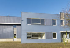 Modern industrial building Royalty Free Stock Photo