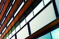 Modern industrial building facade Stock Photography