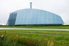 Modern industrial building glass Stock Photos