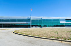 Modern Industrial Building Royalty Free Stock Photography