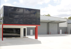 Modern industrial building Stock Image