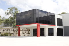 Modern industrial building Royalty Free Stock Image