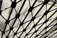 Modern industrial ceiling Royalty Free Stock Photos