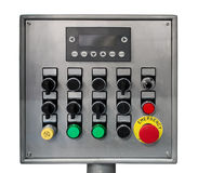 Modern industrial control panel Royalty Free Stock Photography