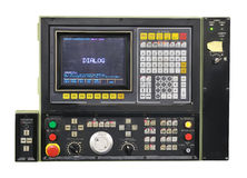 Modern industrial control panel Stock Photography