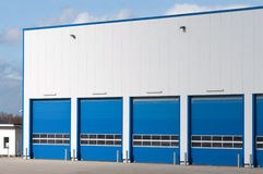 Modern industrial garage Stock Photo