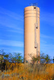 Modern industrial storage tank Royalty Free Stock Photos