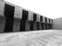 Modern industriell bakgrund för abstrakt konkret arkitektur Royaltyfri Bild