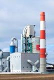 Modern industriell byggnad Royaltyfri Foto
