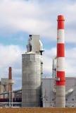 Modern industriell byggnad Arkivfoton
