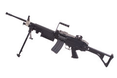 Modern infantry machinegun Stock Photography