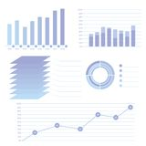 Modern info graphic for business project Stock Image