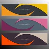 Modern infographic banner design. Vector Stock Photo