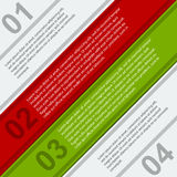 Modern infographic. Design elements Stock Images