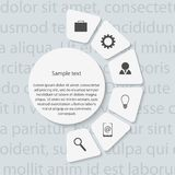 Modern infographic. Design elements. Stock Photography