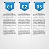 Modern infographic. Design elements. Royalty Free Stock Images