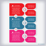 Modern infographic Design template Stock Image
