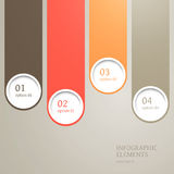 Modern Infographic Elements Stock Images