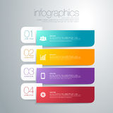 Modern  infographic Stock Photo