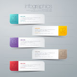 Modern  infographic. Modern info graphic for presentation and all media Stock Image