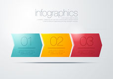 Modern  infographic Stock Image