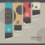 Modern infographic malplaatje Royalty-vrije Stock Foto