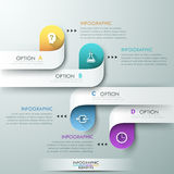Modern infographic option banner Royalty Free Stock Image