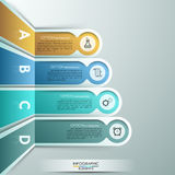 Modern infographic option banner Royalty Free Stock Photos