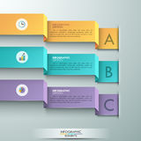 Modern infographic option banner Royalty Free Stock Photo
