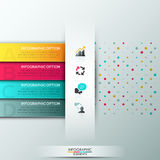 Modern infographic option banner Stock Image